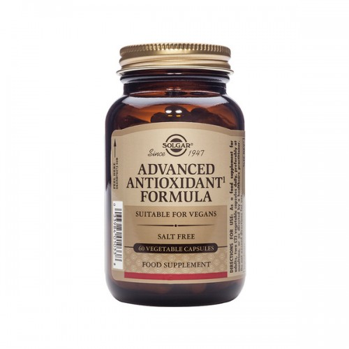 Solgar Advanced Antioxidant Formula 60 Vegetarian Caps (Αντιοξειδωτικά)