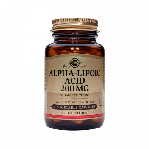 Solgar Alpha Lipoic Acid 120mg 60caps  (Αντιοξειδωτικά)