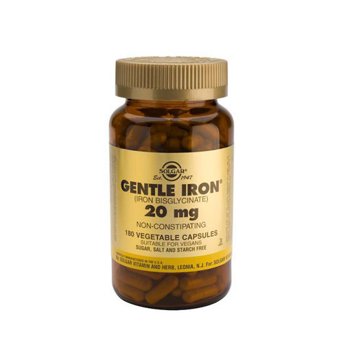 Solgar Gentle Iron 20mg 180 Vegetarian Caps (Σίδηρος)