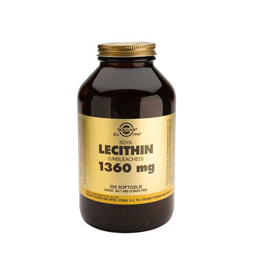 Solgar Lecithin 1360mg Softgels 250s (Λεκιθίνη)