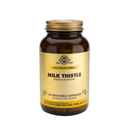Solgar Milk Thistle 100mg 100veg caps (Γαϊδουράγκαθο)