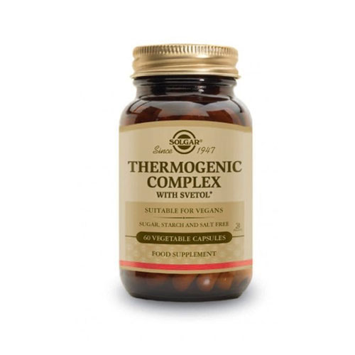 Solgar Thermogenic Complex 60vegetarian caps (Λιποτροπικα βοηθήματα - Αδυνάτισμα)