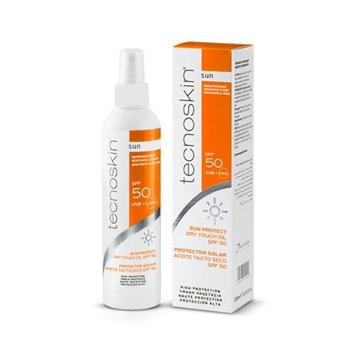Tecnoskin Sun Protect Dry Touch Oil SPF50+ 200ml (Αντηλιακό Λάδι)