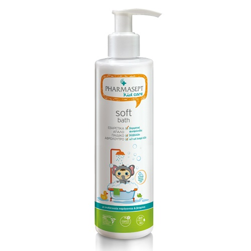 Tol Velvet (Pharmasept) Kid Care Soft Bath 500ml (Παιδικό Αφρόλουτρο)
