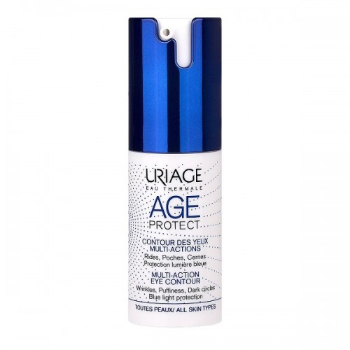 Uriage Age Protect Multi-Action Eye Contour 15ml (Κρέμα Ματιών Πολλαπλών Δράσεων)