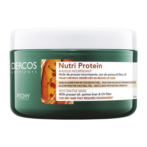 Vichy Dercos Nutrients Nutri Protein Mask 250ml (Μάσκα Μαλλιών)
