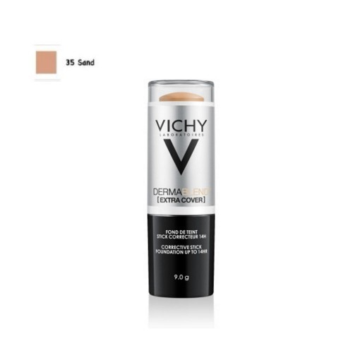 Vichy Dermablend Extra Cover Corrective Stick SPF30 Sand 35 (Διορθωτικό Foundation σε Μορφή Στικ με Μεσαία/Σκούρα Απόχρωση)