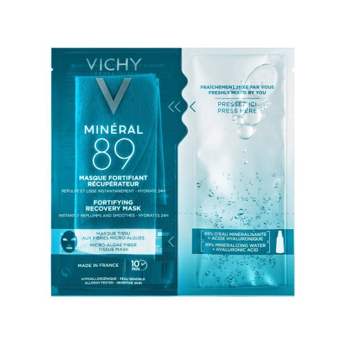 Vichy Mineral 89 Fortifying Instant Recovery Mask 29gr (Μάσκα Ενδυνάμωσης & Επανόρθωσης)